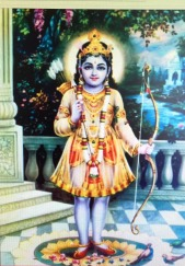 Krishna with Bow